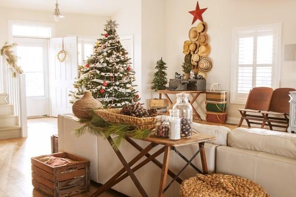 10 gợi ý trang trí cây thông thật lộng lẫy đón Giáng sinh 2015 - ảnh 3