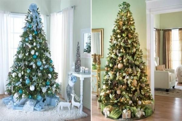 10 gợi ý trang trí cây thông thật lộng lẫy đón Giáng sinh 2015 - ảnh 5