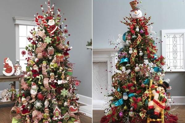 10 gợi ý trang trí cây thông thật lộng lẫy đón Giáng sinh 2015 - ảnh 6