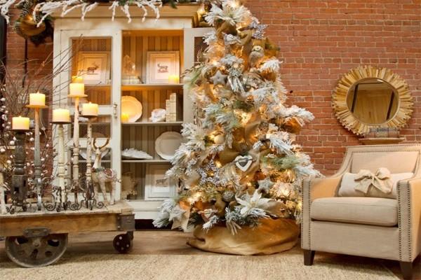 10 gợi ý trang trí cây thông thật lộng lẫy đón Giáng sinh 2015 - ảnh 4