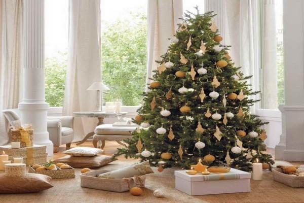10 gợi ý trang trí cây thông thật lộng lẫy đón Giáng sinh 2015 - ảnh 9