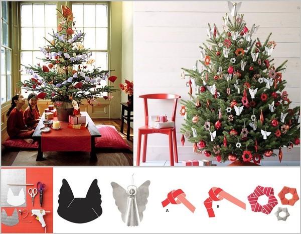 10 gợi ý trang trí cây thông thật lộng lẫy đón Giáng sinh 2015 - ảnh 10