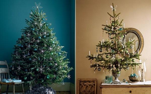 10 gợi ý trang trí cây thông thật lộng lẫy đón Giáng sinh 2015 - ảnh 11