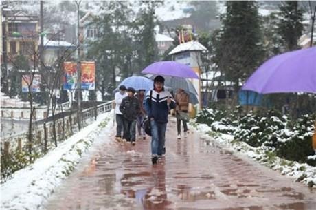 Lai Châu: Hơn 4.300 học sinh phải nghỉ học do rét đậm - ảnh 1