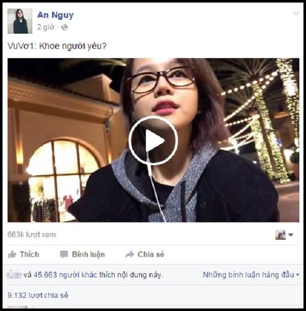 An Nguy tung vlog khuyên 'đừng khoe người yêu' trên mạng - ảnh 1
