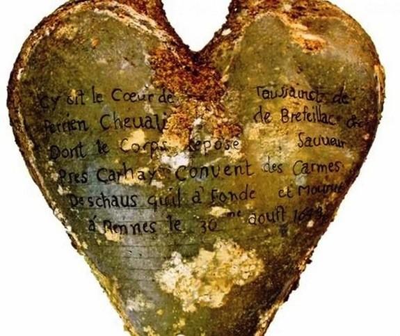 Phát hiện 5 di cốt trái tim 400 năm tuổi còn nguyên vẹn ở Pháp - ảnh 1