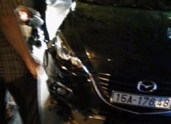 Xe Mazda gây tai nạn liên hoàn, 3 người trọng thương - ảnh 1