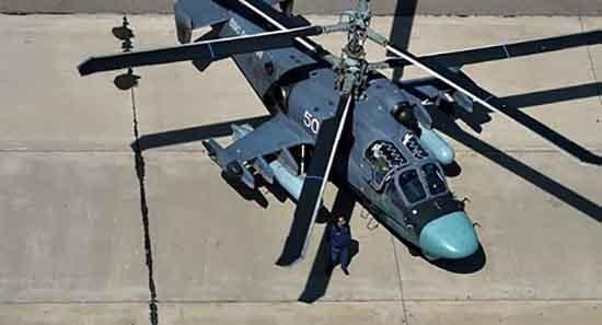 Trực thăng 'cá sấu' Ka-52 của Nga hiện diện ở Syria - ảnh 1
