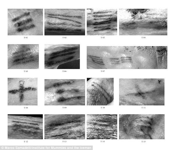 Phát hiện hình xăm cổ đại nhất thế giới trên xác ướp 5.300 tuổi - ảnh 2