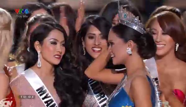 Scandal phút chót Hoa hậu Hoàn vũ 2015: Trao nhầm giải cho Colombia - ảnh 1