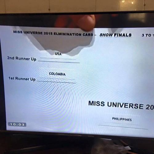 Rộ tin dàn xếp dẫn đến đọc nhầm kết quả tại Hoa hậu Hoàn vũ - ảnh 3