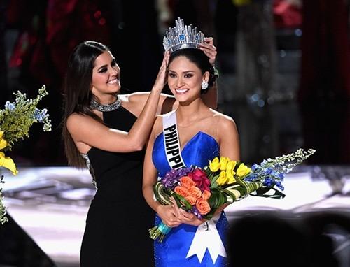 Ngắm vẻ đẹp nóng bỏng của tân Hoa hậu Hoàn vũ Philippines - ảnh 1