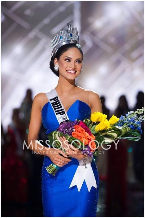 Ngắm vẻ đẹp nóng bỏng của tân Hoa hậu Hoàn vũ Philippines - ảnh 2