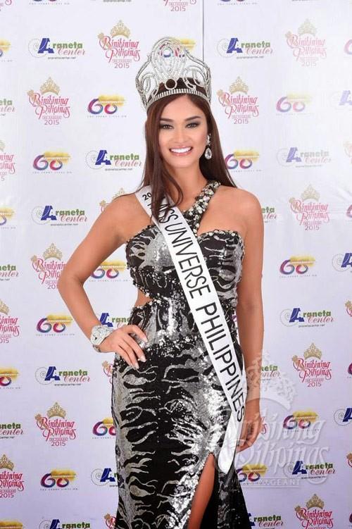 Ngắm vẻ đẹp nóng bỏng của tân Hoa hậu Hoàn vũ Philippines - ảnh 7