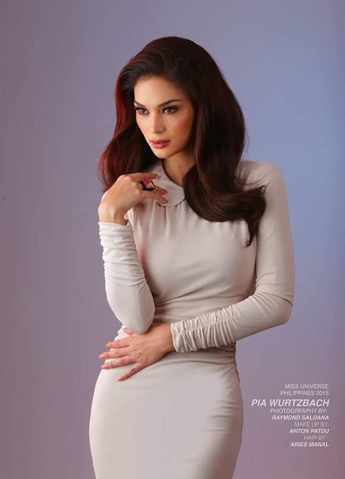 Ngắm vẻ đẹp nóng bỏng của tân Hoa hậu Hoàn vũ Philippines - ảnh 6