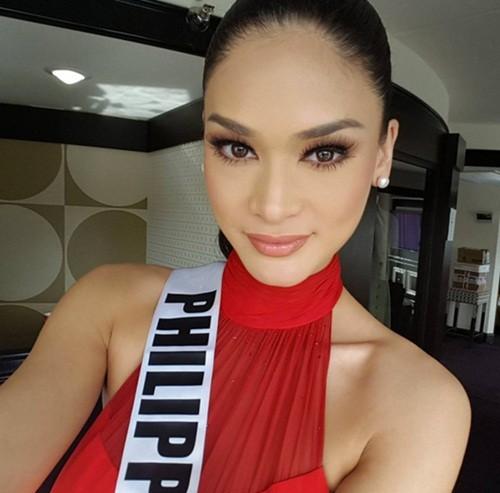 Ngắm vẻ đẹp nóng bỏng của tân Hoa hậu Hoàn vũ Philippines - ảnh 9