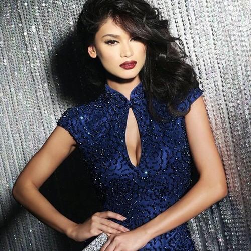 Ngắm vẻ đẹp nóng bỏng của tân Hoa hậu Hoàn vũ Philippines - ảnh 12