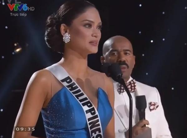 Người đẹp Philippines ngơ ngác đăng quang Hoa hậu Hoàn vũ 2015 - ảnh 1
