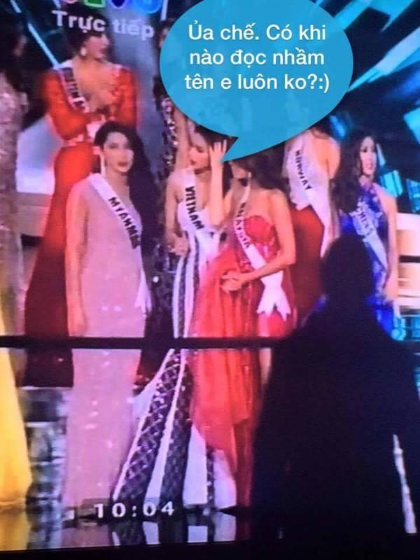 Cười bò loạt ảnh chế sự cố trao nhầm vương miện Hoa hậu hoàn vũ 2015 - ảnh 3