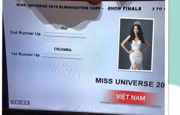 Cười bò loạt ảnh chế sự cố trao nhầm vương miện Hoa hậu hoàn vũ 2015 - ảnh 4