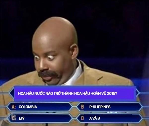 Cười bò loạt ảnh chế sự cố trao nhầm vương miện Hoa hậu hoàn vũ 2015 - ảnh 5