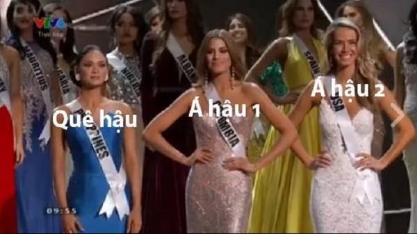 Cười bò loạt ảnh chế sự cố trao nhầm vương miện Hoa hậu hoàn vũ 2015 - ảnh 6
