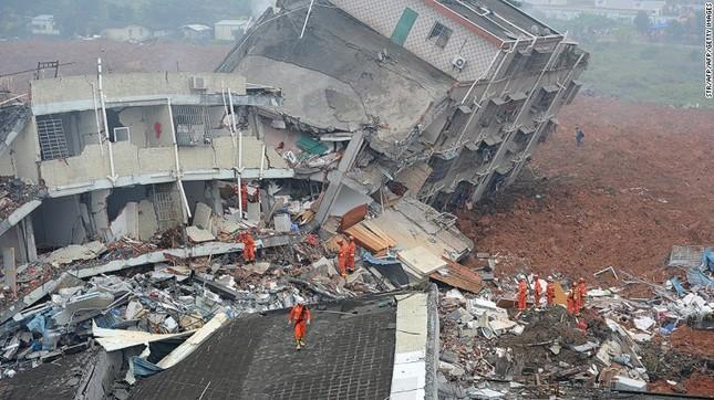 Toàn cảnh vụ sập 33 tòa nhà, 91 người mất tích ở TQ - ảnh 2