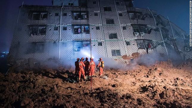 Toàn cảnh vụ sập 33 tòa nhà, 91 người mất tích ở TQ - ảnh 3