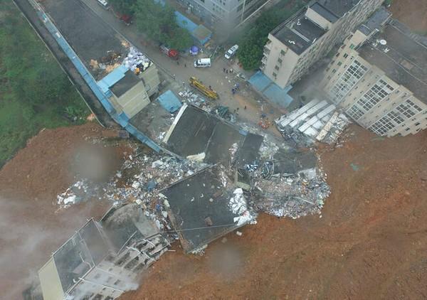 Toàn cảnh vụ sập 33 tòa nhà, 91 người mất tích ở TQ - ảnh 4