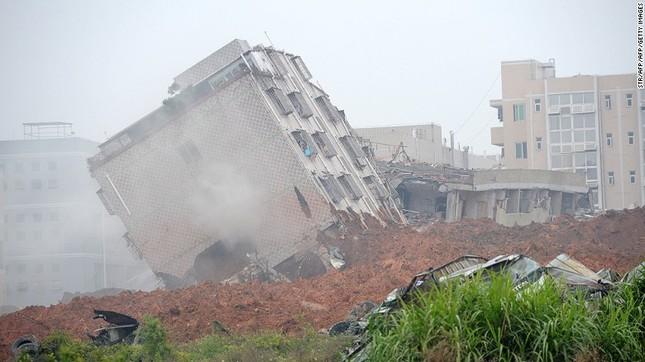 Toàn cảnh vụ sập 33 tòa nhà, 91 người mất tích ở TQ - ảnh 1
