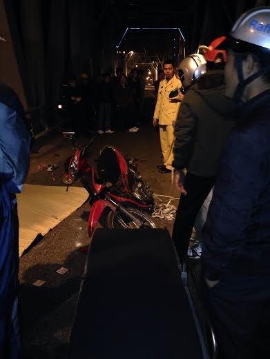 Cú đâm trực diện khiến 2 người chết thảm trong đêm - ảnh 1