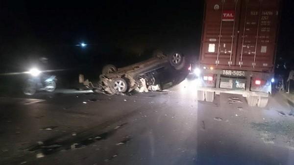 Tin tức mới nhất vụ xe BMW tông dập lá lách CSGT - ảnh 1