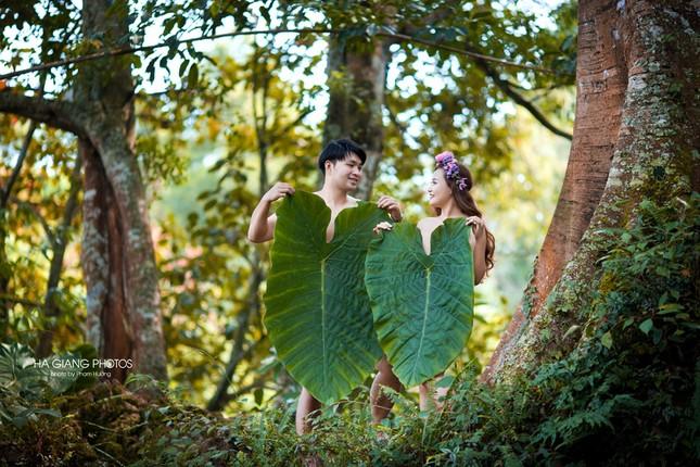 Những bộ ảnh cưới độc đáo khiến cư dân mạng phát cuồng - ảnh 7