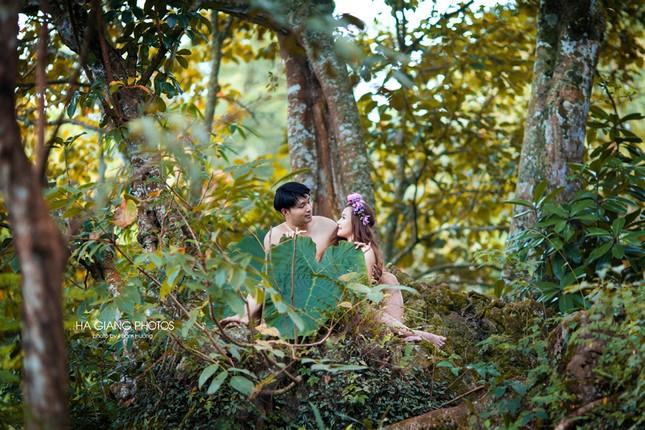 Những bộ ảnh cưới độc đáo khiến cư dân mạng phát cuồng - ảnh 9