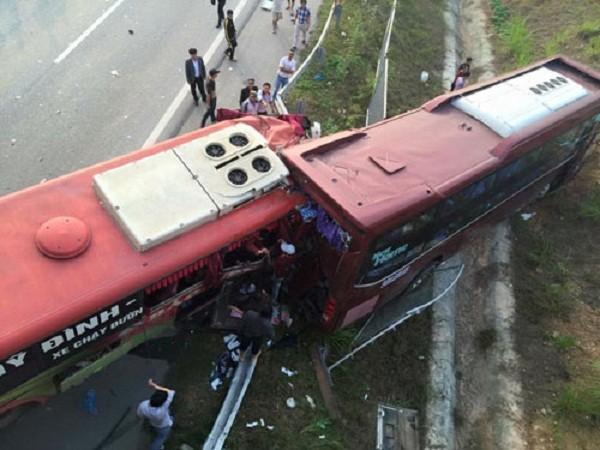 Tai nạn ở cao tốc Nội Bài – Lào Cai: Danh tính 2 vợ chồng tử vong - ảnh 1