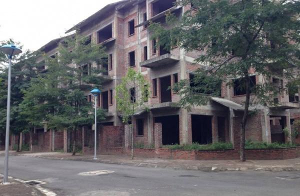 Khu biệt thự sang trọng bị bỏ hoang ở Hà Nội - ảnh 1