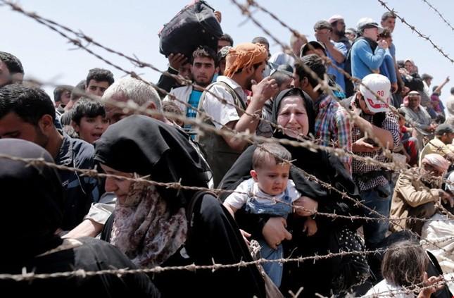 Dịch bệnh 'ăn thịt người' bùng phát ở chiến trường Syria - ảnh 1