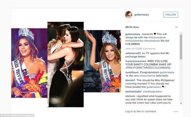 'Vị khán giả bất thường' trong chung kết Hoa hậu Hoàn vũ 2015 - ảnh 1