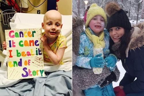 Cảm động cô bé mắc bệnh ung thư và ước mơ gặp ông già Noel - ảnh 1