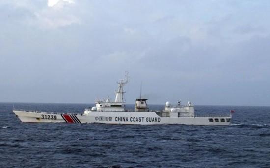 Tàu Trung Quốc mang 4 khẩu pháo áp sát đảo tranh chấp với Nhật Bản - ảnh 1