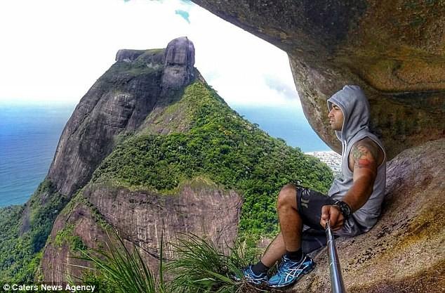 'Ngã ngửa' với sự thật sau bức ảnh chàng trai 'đu trên vách đá' - ảnh 6