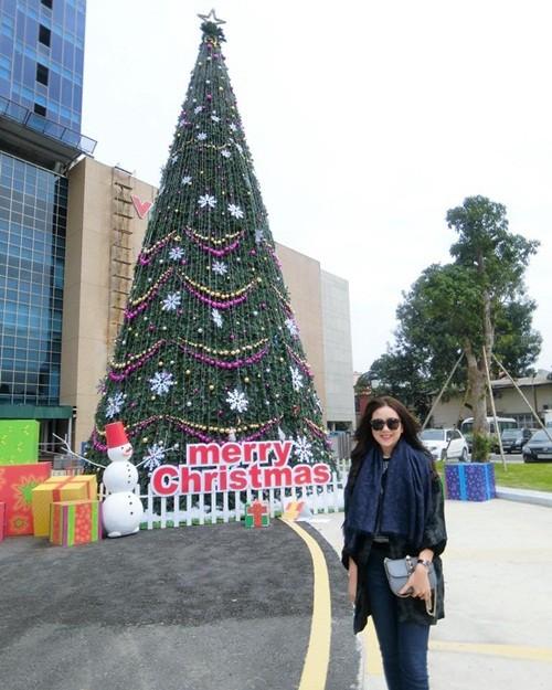 Giáng sinh 2015: MC đài VTV háo hức khoe ảnh - ảnh 1