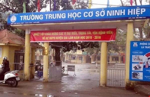 Tin mới nhất vụ 2.000 học sinh Ninh Hiệp nghỉ học: Sở GD&ĐT vào c - ảnh 1
