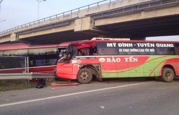 Khởi tố vụ tai nạn thảm khốc trên cao tốc Nội Bài – Lào Cai - ảnh 1