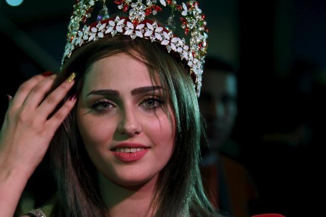 IS đe dọa tân hoa hậu đầu tiên của Iraq kể từ năm 1972 - ảnh 1