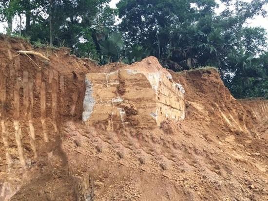 Phát hiện hòm đá nghi mộ của Vua chứa kho báu ở Hà Tĩnh - ảnh 1
