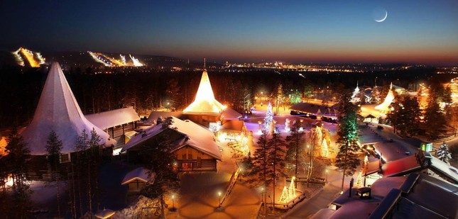 Đến thăm ngôi nhà có thật của ông già Noel ở Phần Lan - ảnh 1