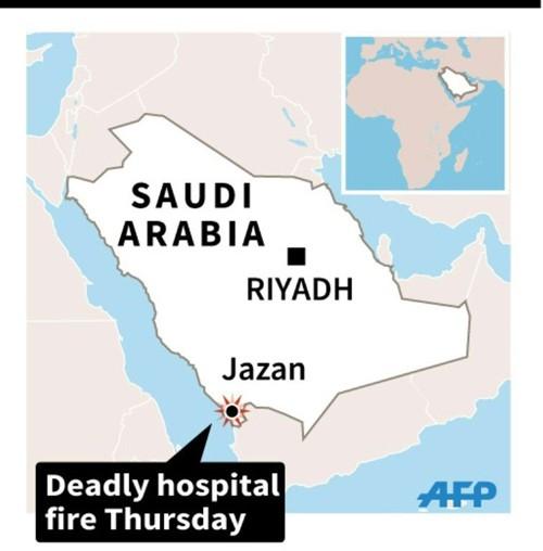 Cháy lớn tại bệnh viện Saudi Arabia, 25 người thiệt mạng - ảnh 1