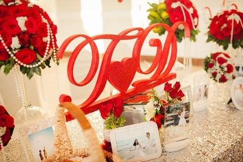 Đám cưới ngập tràn không khí Giáng sinh của Á hậu Diễm Trang - ảnh 9