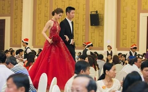 Đám cưới ngập tràn không khí Giáng sinh của Á hậu Diễm Trang - ảnh 3